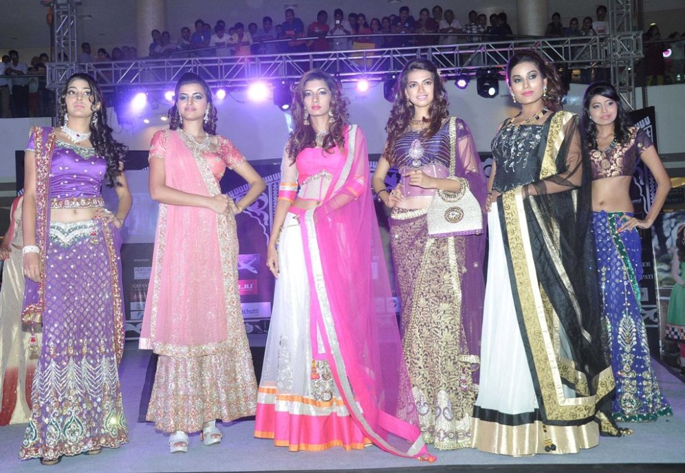 Models walked the ramp at the 'Indian Wedding Couture'.2