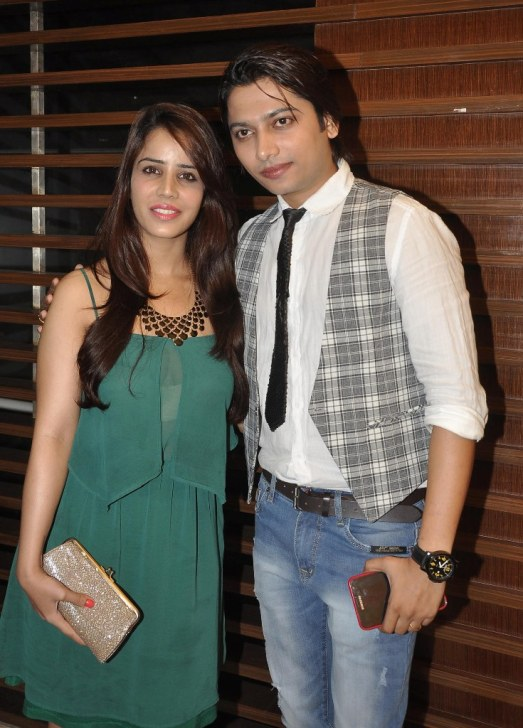 Priti Sharma & Sidhant Singh at the '10th Excellence National Best Debutante Awards 2014'.1