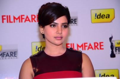 Samantha Prabhu at the '61st Idea Filmfare Awards 2013' (SOUTH) Press Conferenece at Taj Krishna in Hyderabad.13