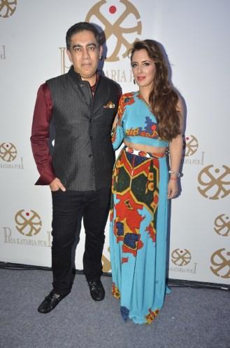 01 - Pria & Sumit Puri at Pria Kataaria Puri Store Launch Event