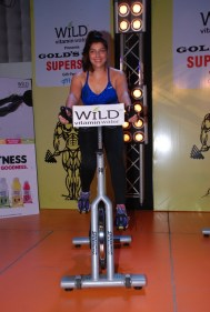 05 Ms. Vidisha Roy, Master Instructor Gold's Gym India @ SupinSpin event in Gold's Gym, Bandra