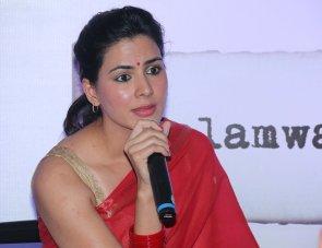 Actress Kirti Kulhari launched the kalamwali.com 'a world of words'.3