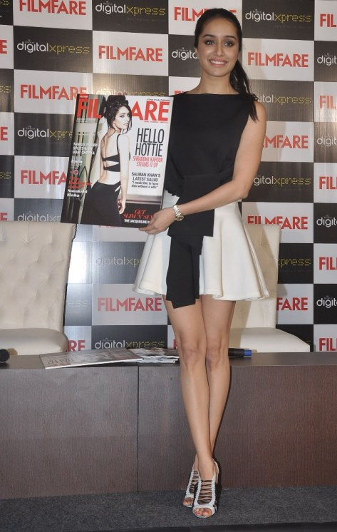 Shraddha Kapoor at the Filmfare Magazine cover launch at Reliance Digital, Prabhadevi.14