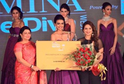 1st Runner up Monica winner of 'Femina Style Diva 2014'