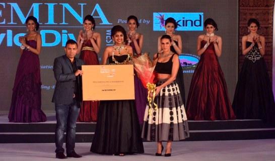 2nd Runner up Neelam winner of 'Femina Style Diva 2014'.