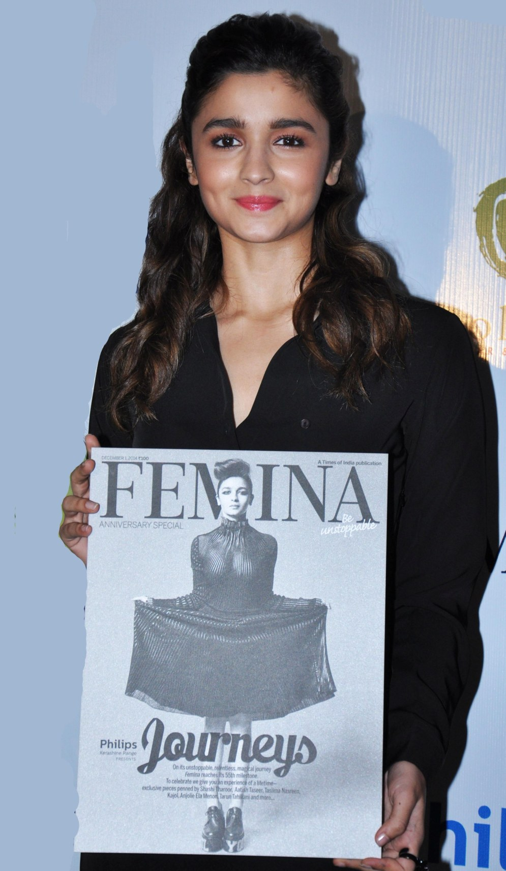 Alia Bhatt graced the cover launch of Femina's 55th Anniversary issue at Guppy by Olive.2