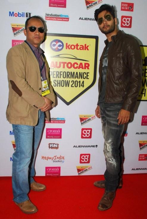 Debolin Sen & Ali Fazal at the 'Autocar Performance Show 2014'.