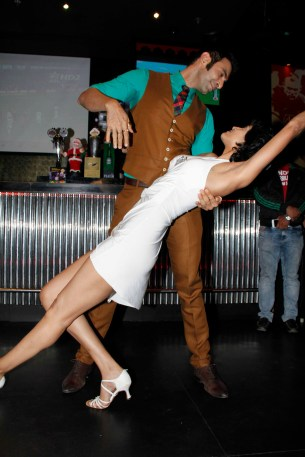 Sandip dancing with wife jesse2