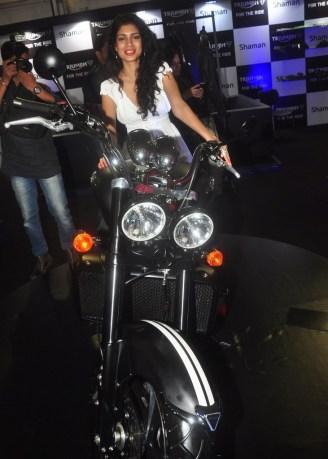 Tena Desae at the 'Autocar Performance Show 2014.4