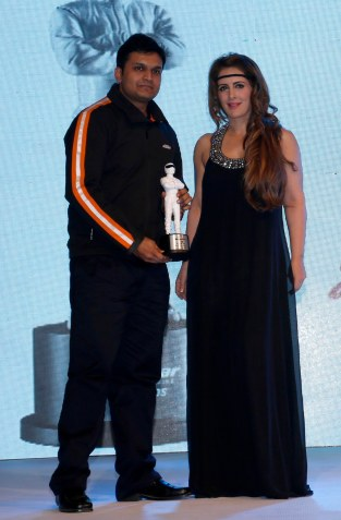 Pria Kataria Puri presenting at the 7th TopGear Awards