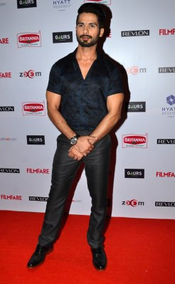 Shahid Kapoor at the '60th Britannia Filmfare Awards 2014' Pr Awards Party at Hyatt Regency.2