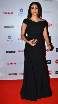Tabu at the Red Carpet of '60th Britannia Filmfare Awards 2014' Pr Awards Party at Hyatt Regency