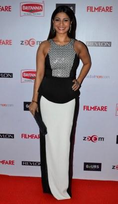 Tanisha at the Red Carpet of '60th Britannia Filmfare Awards 2014' Pr Awards Party at Hyatt Regency.