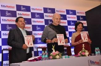 Dr Vasudevan Pilla & Actor Anupam Kher @ Book Launch - EduNation by Dr Pillai_02