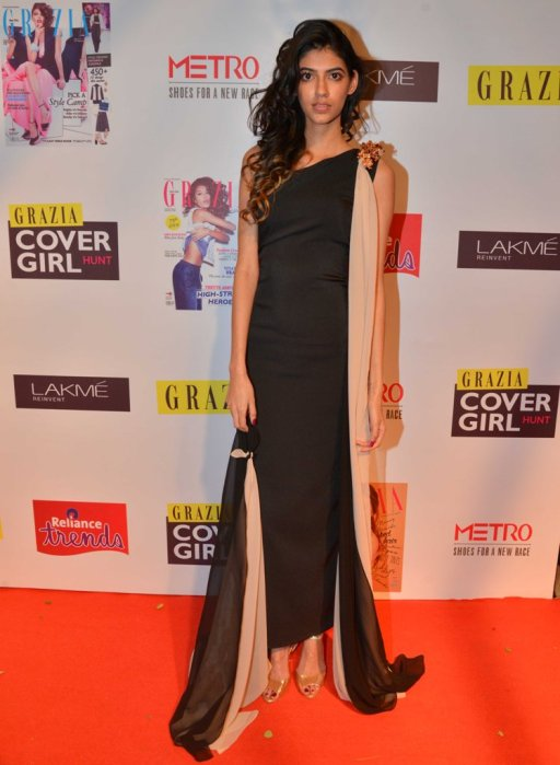 Grazia Cover Girl Hunt 2nd Runner up at the Grazia Cover Girl Hunt Finale.