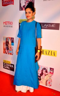 Guest at the Grazia Cover Girl Hunt Finale