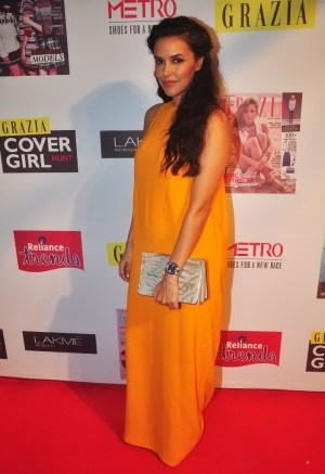 Neha Dhupia at the Grazia Cover Girl Hunt Finale
