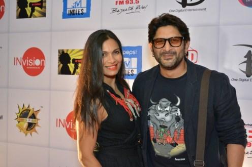 Arshad Warsi & Maria Goretti at Ghanta Awards 2015