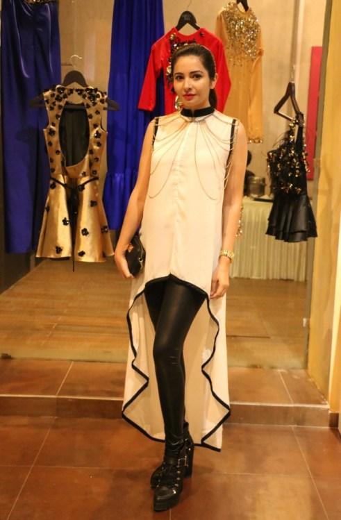 Shonali Nagrani @ Designer HARSH HARSH's SS 2015 preview soiree