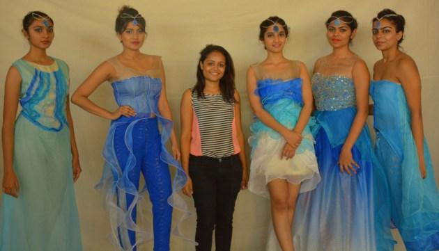 4 Students Of NiftMUMBAI Fashion Design Dept