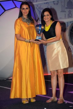 Neha Dhupia at the 'Lonely Planet Travel Awards 2015' at JW Marriot Sahar.3