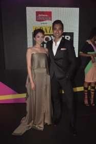 Aditi Rao Hydari & Rahul Khanna at the Red Carpet of Grazia Cover Girl Hunt at Tote on the Turf