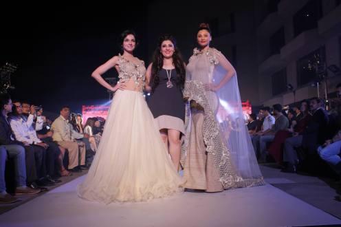 Archana Kochhar with Divya Kumar Khosla & Daisy Shah