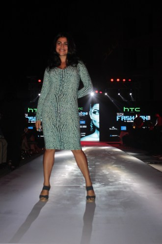 Shenaz Treasurywala @ tech fashion tour