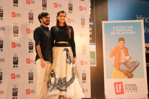 Sonam Kapoor & the Living Foodz contest winner