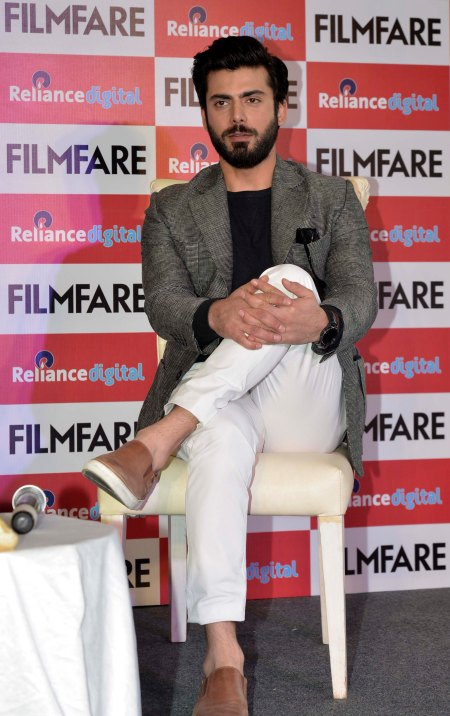 Fawad Khan at the Filmfare Magazine Cover page launch held at Reliance Digital, Juhu.5