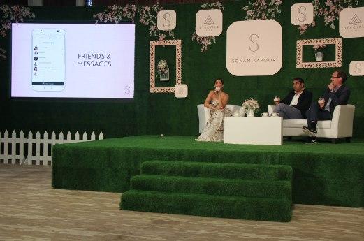 Sonam Kapoor,varun Talreja & CEO of Disciple Media, Benji Vaughan