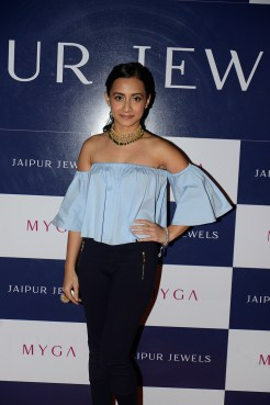 Auritra Ghosh at Jaipur Jewels Myga Collection Launch