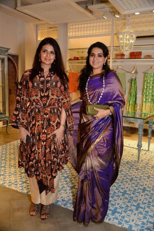 Shruti Sancheti & Shaina NC