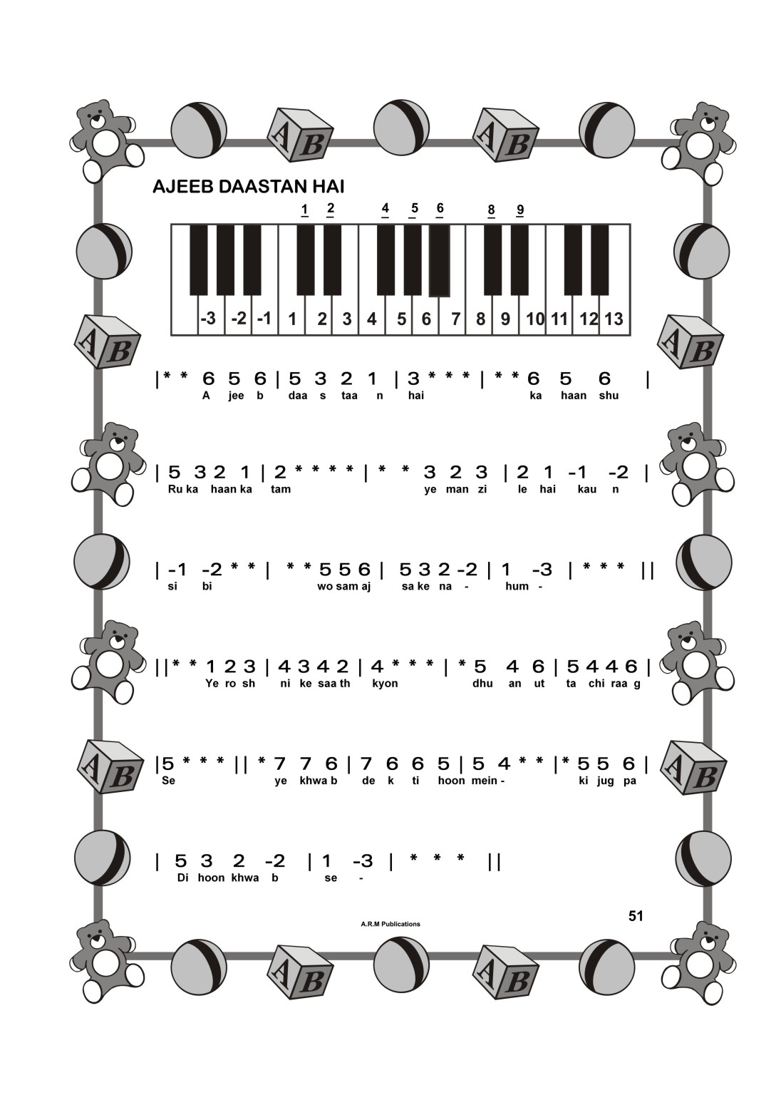 Play Bollywood Songs By Numbers On Keyboard