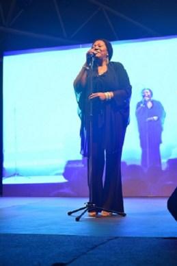 Liz Mitchell performing live at Phoenix Marketcity Kurla 1