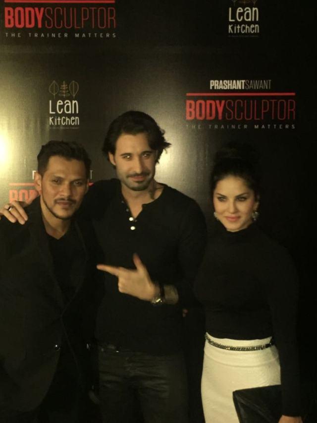 Prashant Sawant, Daniel Weber & Sunny Leone