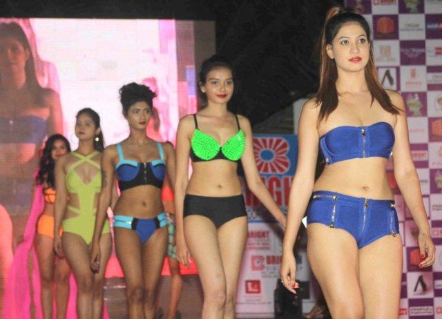 Models at Bright Perfect Miss India 2016