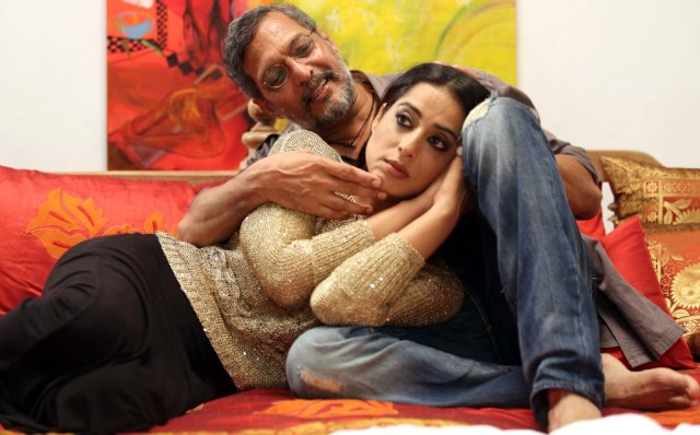 Nana Patekar and Mahie Gill