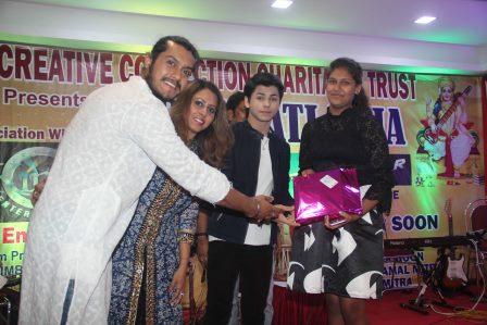 Saurabh Chokroborty with Shomu Mitra and Siddharth Nigam