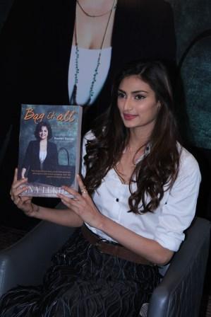 Athiya Shetty at the launch of Nina Lekhi's Book