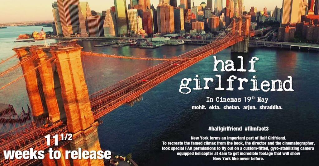 Half Girl Friend Film Facts