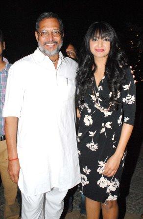 Nana Patekar and Bhumi Trivedi