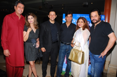 "Celebrities at the trailer launch of film ""Sargoshiyan"""