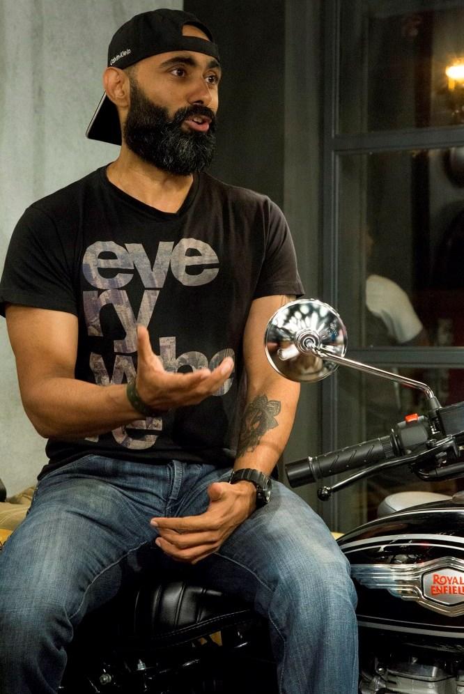 Rajeev Acharya, participant of Himalayan Odyssey 2017