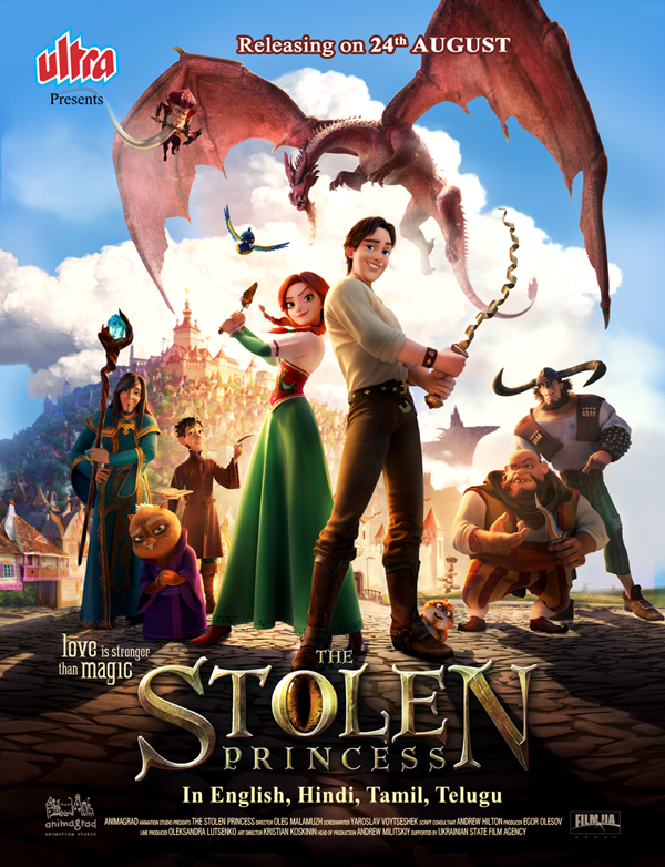 Anime film The Stolen Princess releases on 24th August, 2018 in