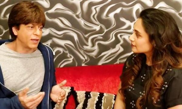 Shah Rukh Khan reveals his life's Hichki to Rani Mukerji