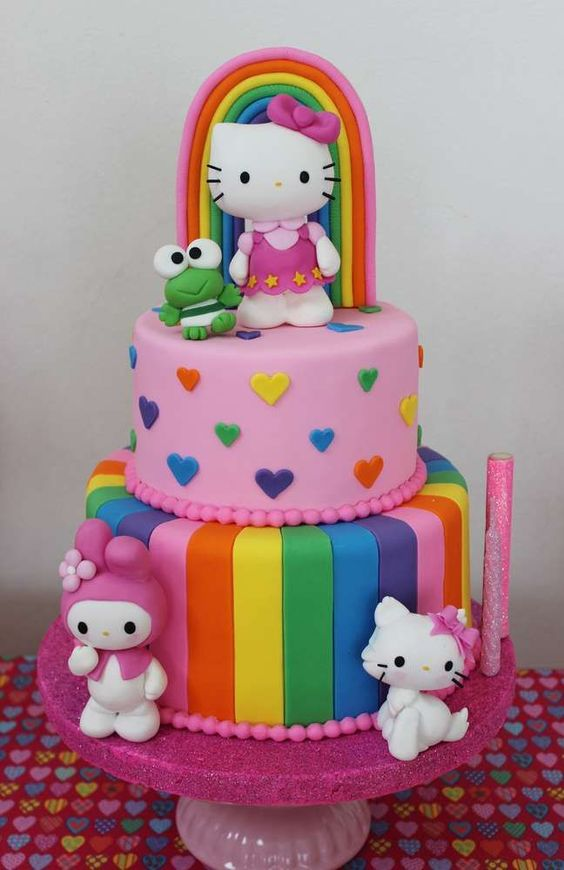 20 Ideias De Bolos Da Hello Kitty