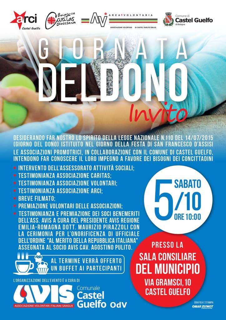 Avis Castel Guelfo Giornata del Dono