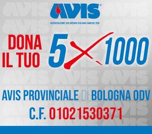Box 5x1000 Avis Provinciale Bologna 2020