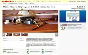 Gli atterra un drone sul terrazzo e lui tenta di rivenderlo online  Bologna  Repubblicait